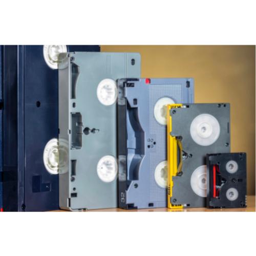 Numérisation et transfert de vos cassettes vidéo